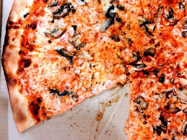 Best Friday Night Pizza in Sonoma County. This pizza is from Joey's in Santa Rosa. Photo: Heather Irwin (eater)