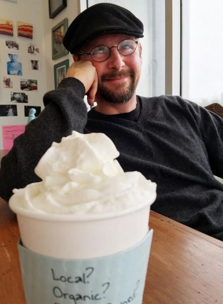 Jon Bixler of Bella Rosa Coffee Company in Santa Rosa (Heather Irwin)