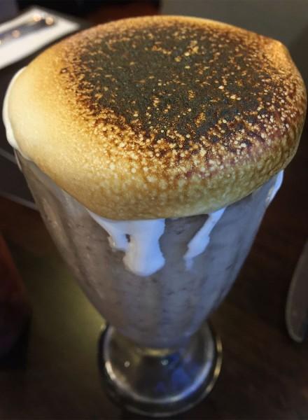 S'mores milkshake at Bibi's Burger Bar in Santa Rosa. (Heather Irwin)
