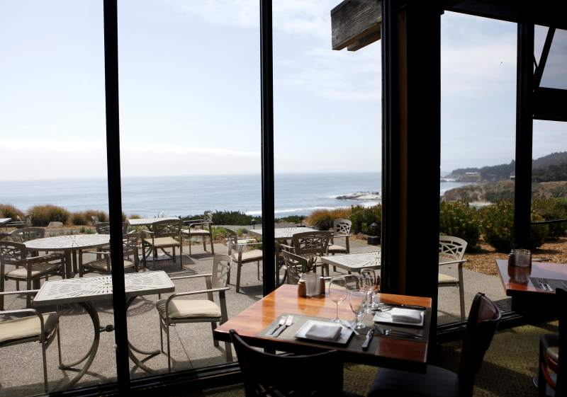 Timber Cove Inn: If you're getting tired, pull over at the Timber Cove Inn located 30 minutes north of Jenner. Renovated and re-opening this spring, you can wake up to spectacular views of the Pacific ocean. (BETH SCHLANKER/ The Press Democrat)