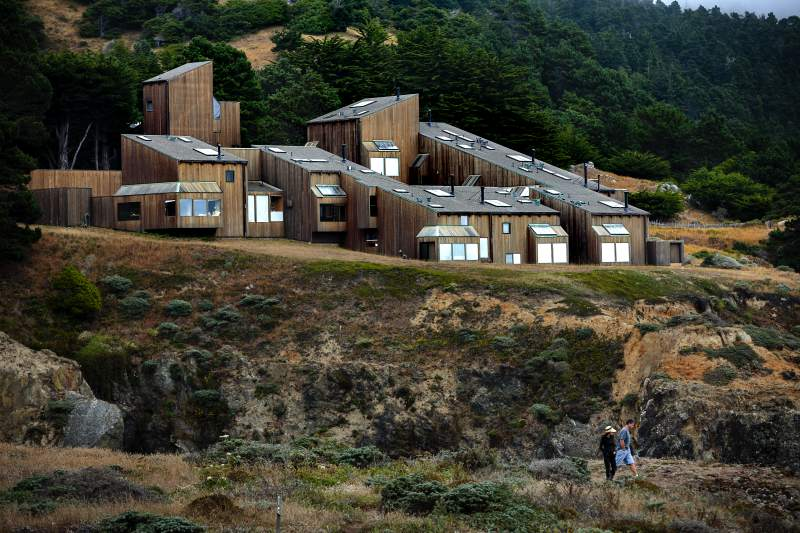 Explore the homes of Sea Ranch: As you continue up Highway 1, you'll find the community of Sea Ranch. Known for its unique architecture, the houses were built to blend into the seaside geography. (Chris Hardy / The Press Democrat)