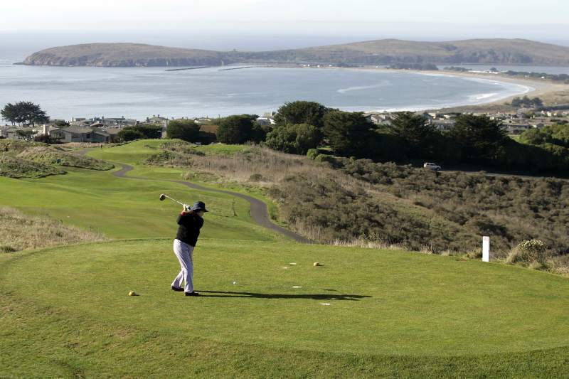 The Links at Bodega Harbour: Play a round of golf at The Links at Bodega Harbour, which overlooks Bodega Bay. It was on Golf Digest's 'Best Places to Play.' (Photo by John Burgess/The Press Democrat)