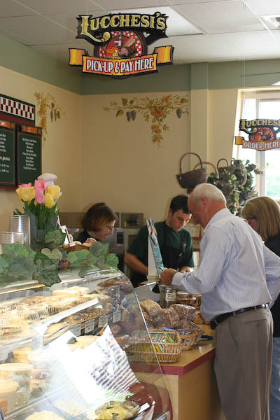 Lucchesi's Deli in Petaluma is a local favorite. This mom-and-pop deli serves up some of the most delicious sandwiches around. Around lunch, the small space is packed with people from all over Petaluma – from business men to high schoolers. (Courtesy / Lucchesi's Deli)