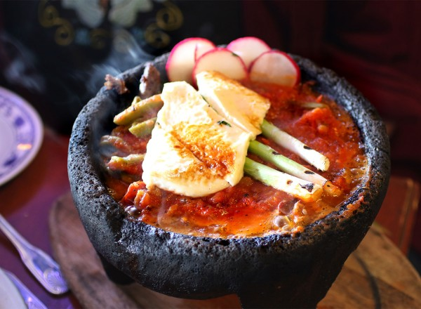 Molcajete at La Texanita in Santa Rosa (Heather Irwin, PD)
