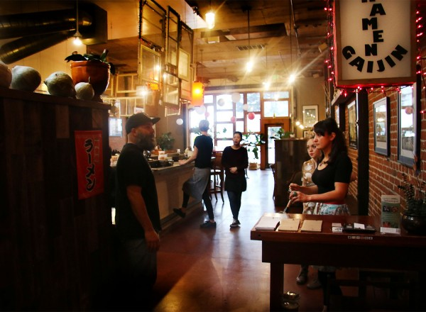 The re-opening of Ramen Gaijin after an expansion. (Heather Irwin)