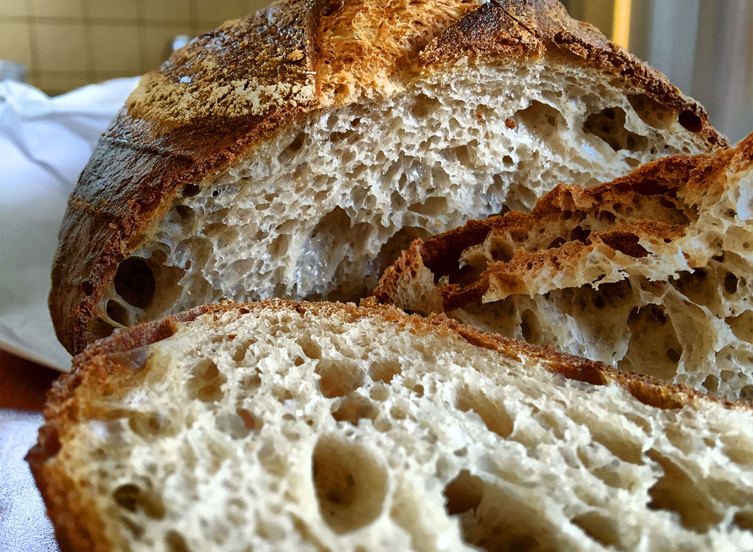 Country loaf from Cloverdale's Trading Post Bakery (heather irwin)