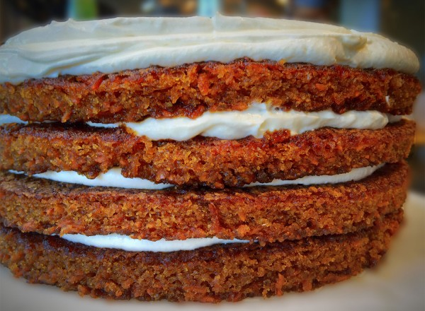Carrot cake at The Pharmacy in Santa Rosa. (Heather Irwin)