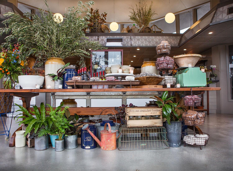 The Sunny Interior Of Pharmacy Cafe In Santa Rosa Erica Olsson Photography