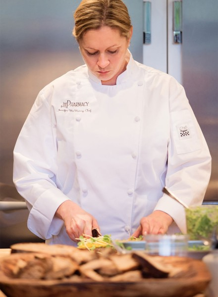 Chef Jennifer McMurry at The Pharmacy in Santa Rosa (Erica Olsson Photography)
