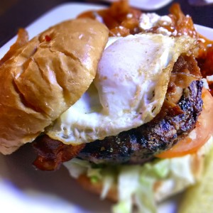 Pork Belly Burger at Hey Misstir Bar and Grill in Santa Rosa (Heather Irwin)