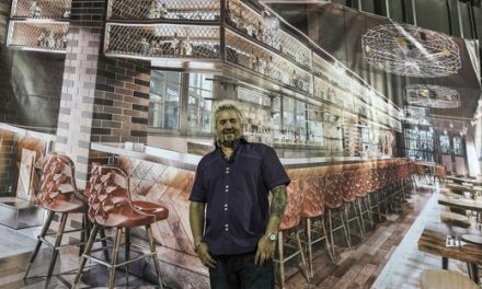 Guy Fieri's Smoking New BBQ Restaurant