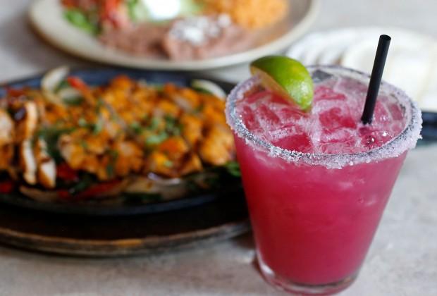 Prickly Pear margarita at La Rosa Tequileria in Santa Rosa (Beth Schlanker)