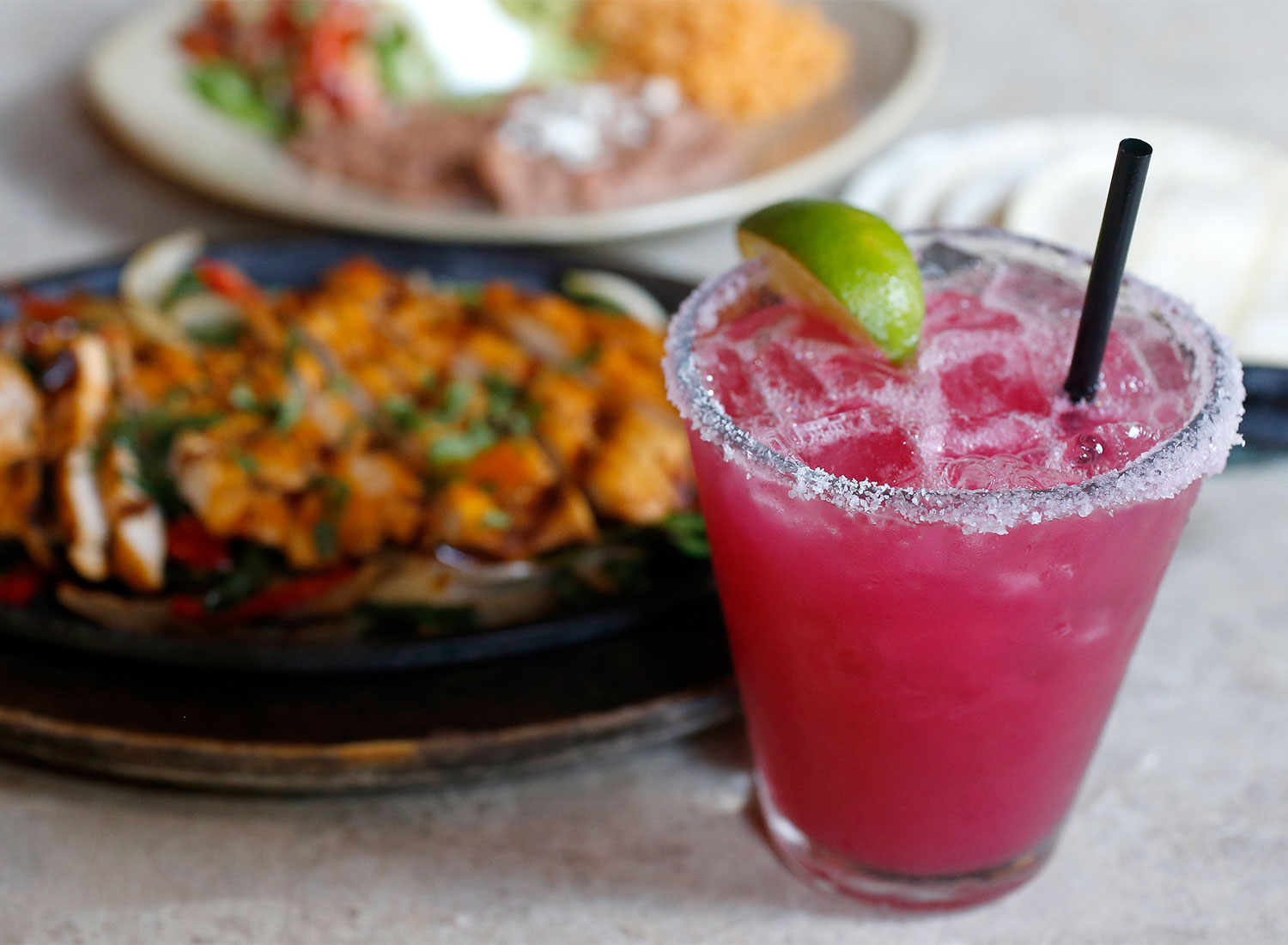 Prickly Pear margarita at La Rosa Tequileria in Santa Rosa (Beth Schlanker)