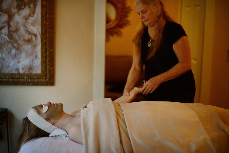 10. Pamper Mom with a spa day. Almost nothing compares to the feeling of being treated like a queen and catered to. Better yet, enjoy the pampering together. (Photo: Erik Castro/for The Press Democrat)