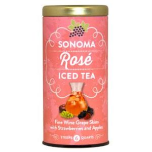 Sonoma Rose Iced Tea white