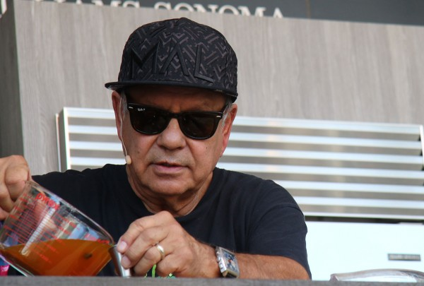 Cheech Marin works with a sativa syrup made by Chris Cosentino at BottleRock 2016