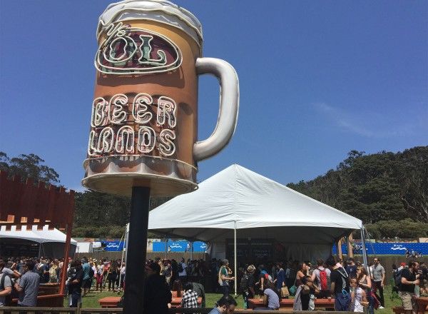Beerlands at Outside Lands 2015 (heather irwin)