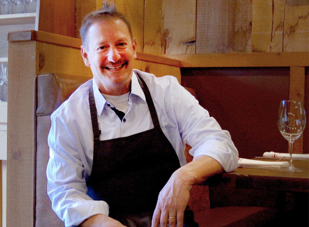 Chef Ron Siegel has arrived at Rancho Nicasio.