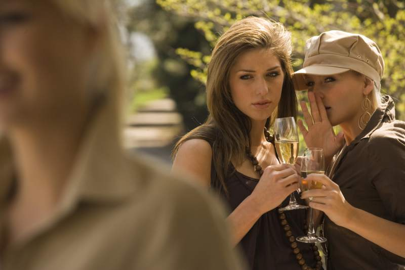 Don't: Go wine tasting with a boss or a gossipy friend.