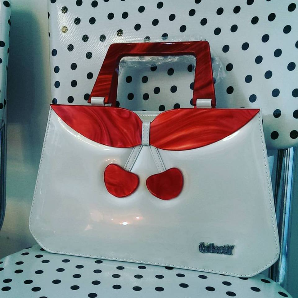 Cute cherry purse.