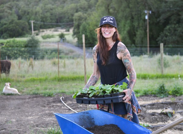 Katina Connaughton of Single Thread Farms Restaurant in Healdsburg. (Sally Egan)