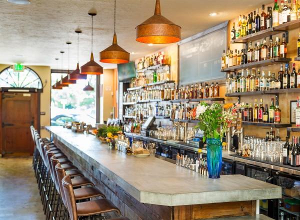 Interior of Duke's Spirited Cocktails in Healdsburg. Photo Nat and Cody Gantz.