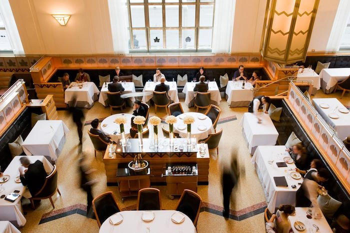 Eleven Madison Park in New York placed third at this year's World's 50 Best Restaurants.