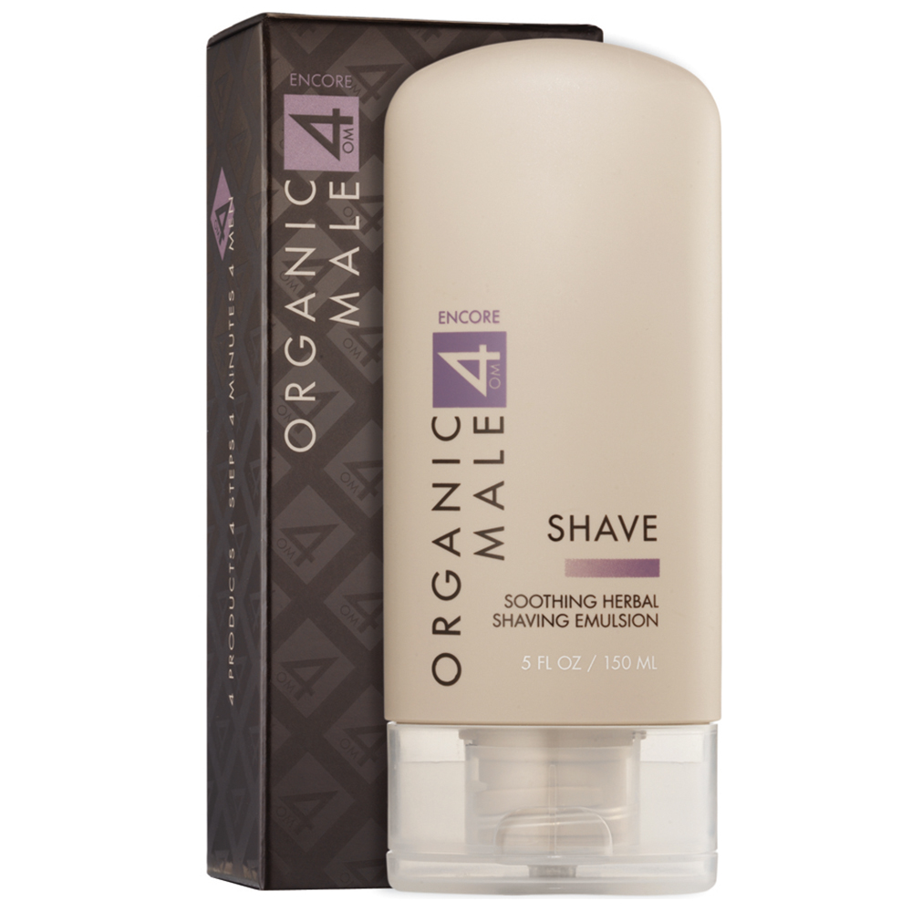 Soothing Herbal Shaving Emulsion for Men by Organic Male