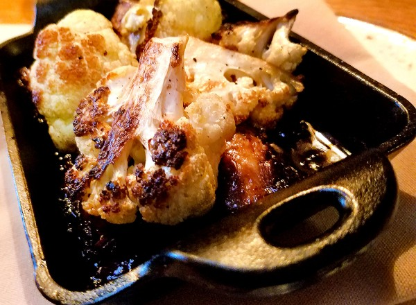 Cauliflower with oxtail at County Bench in Santa Rosa. Heather Irwin/PD