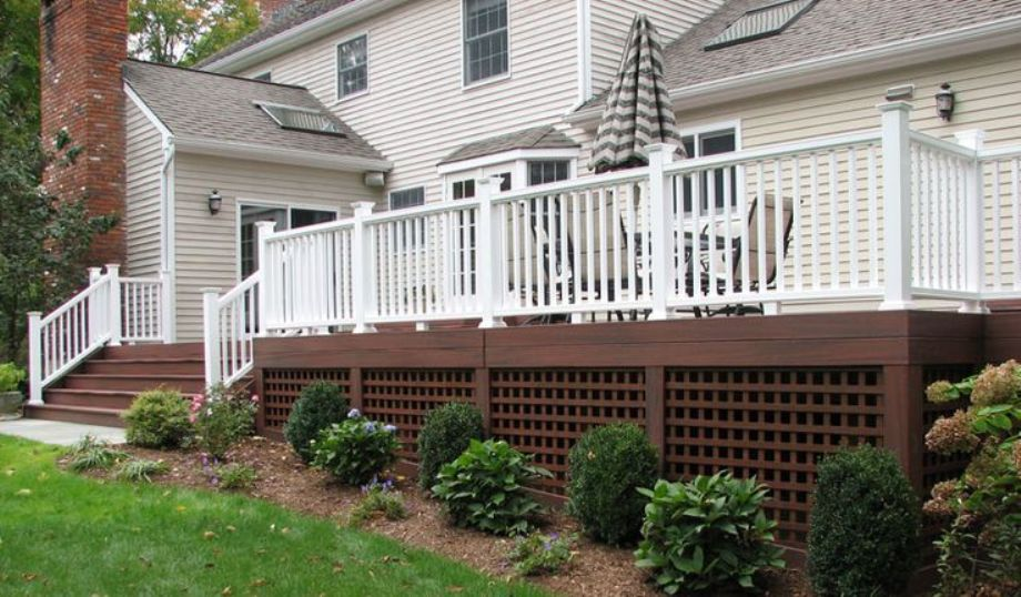 Deck Skirting Materials : Choosing the right deck for your wine country backyard