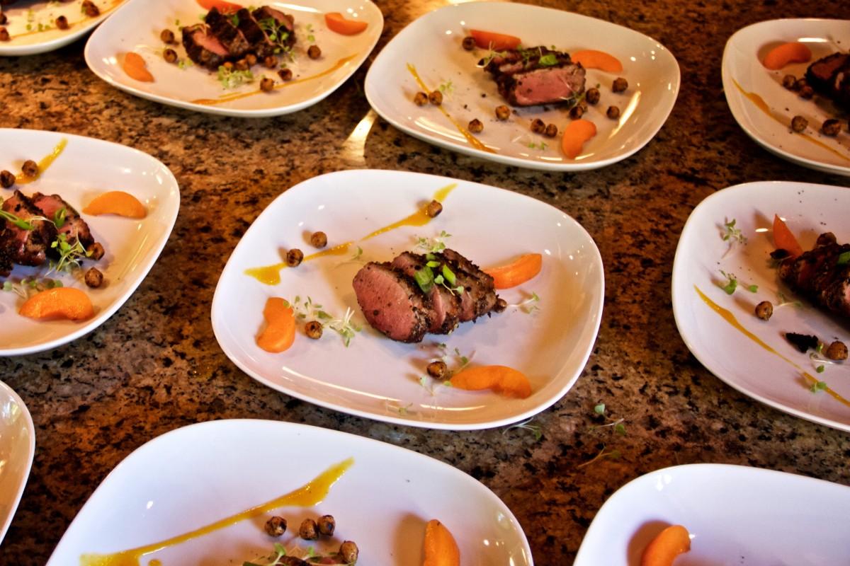 Vance Rose hosts gourmet pop up dinners