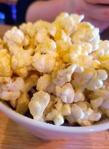 Popcorn + corn at County Bench in Santa Rosa, Ca on 6/1/16. Heather Irwin/PD