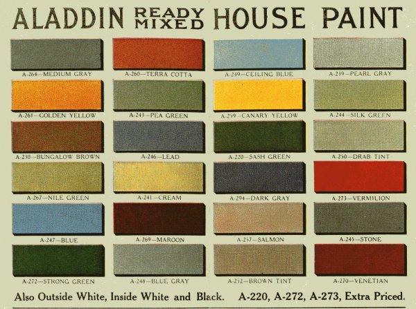 Aladdin Color Palette
