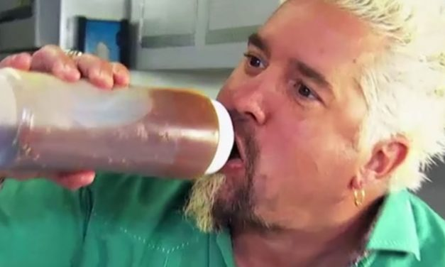 Painful Guy Fieri Video Hurts to Watch
