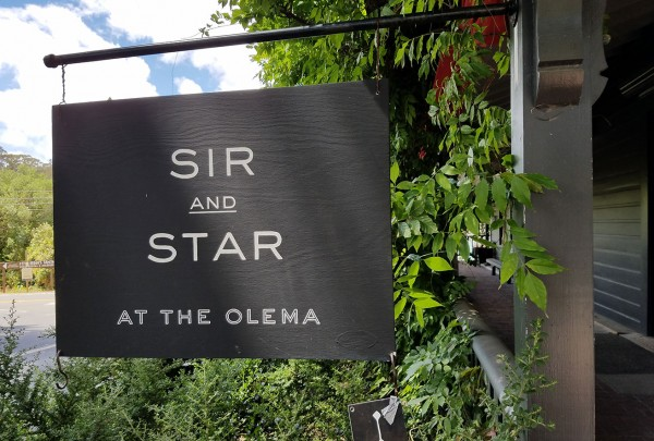 Sir and Star in Olema