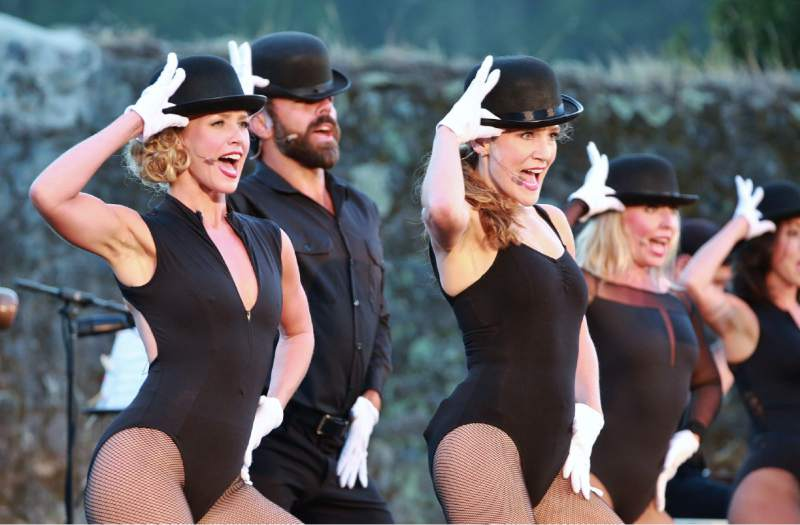 """Transcendence Theater's """"Broadway Under the Stars"""" continues with the musical revue """"Fantastical Family Night"""" July 15-16 in the winery ruins at Jack London State Historic Park in Glen Ellen."""