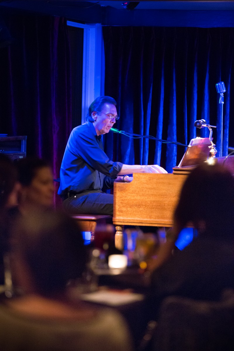 Wayne De La Cruz preforms with his band at The Big Easy bar and night club in Petaluma, Calif. Friday, March 20. The Big Easy bills itself as an underground restaurant & jazz club located in a Historic Downtown Petaluma in American Alley. Jeremy Portje