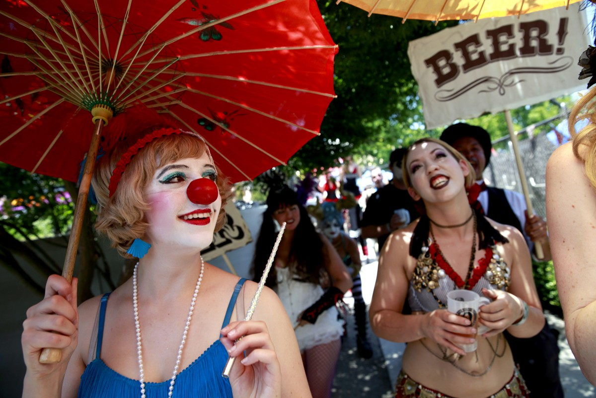 Lagunitas Beer Circus (Beth Schlanker / The Press Democrat)