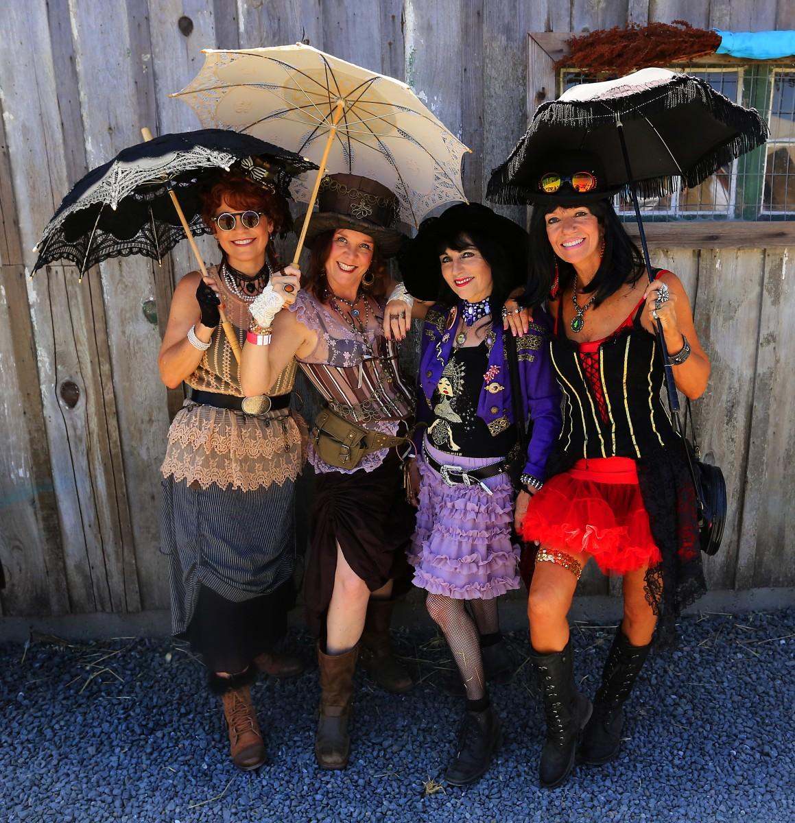 Music, costumes and fun at the Rivertown Revival in Petaluma. (Photo by John Burgess)