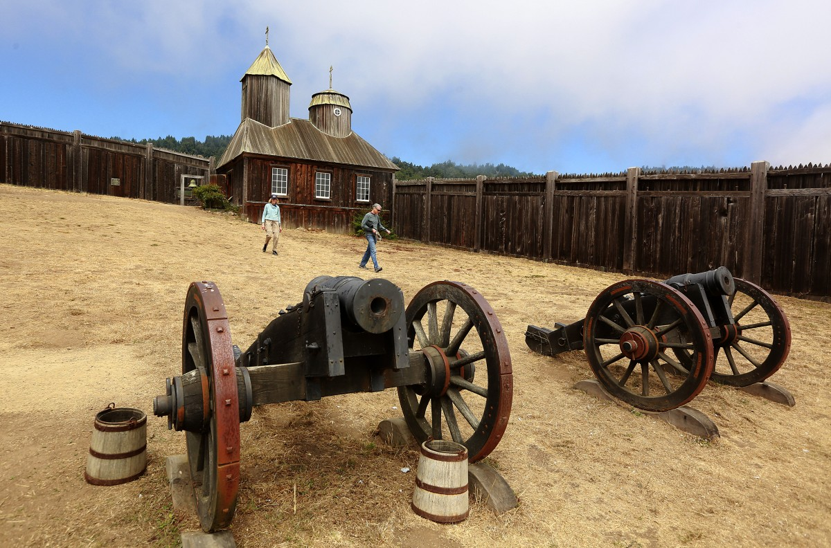 Fort Ross Historic State Park, Jenner. (Photo by John Burgess)