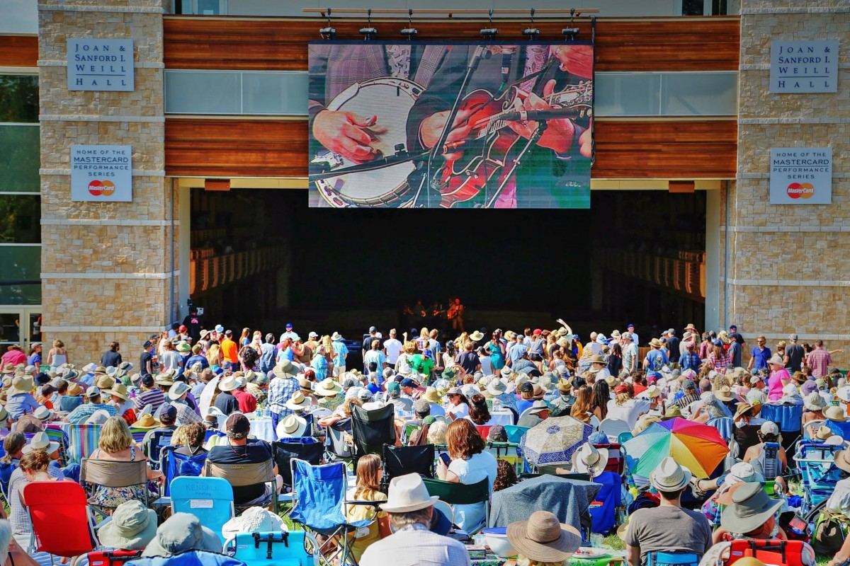 Concert goers to the Green Music will be able to enjoy some bluegrass on the lawn during the Dawg Day Afternoon July 12, 2015 concert. Will Bucquoy