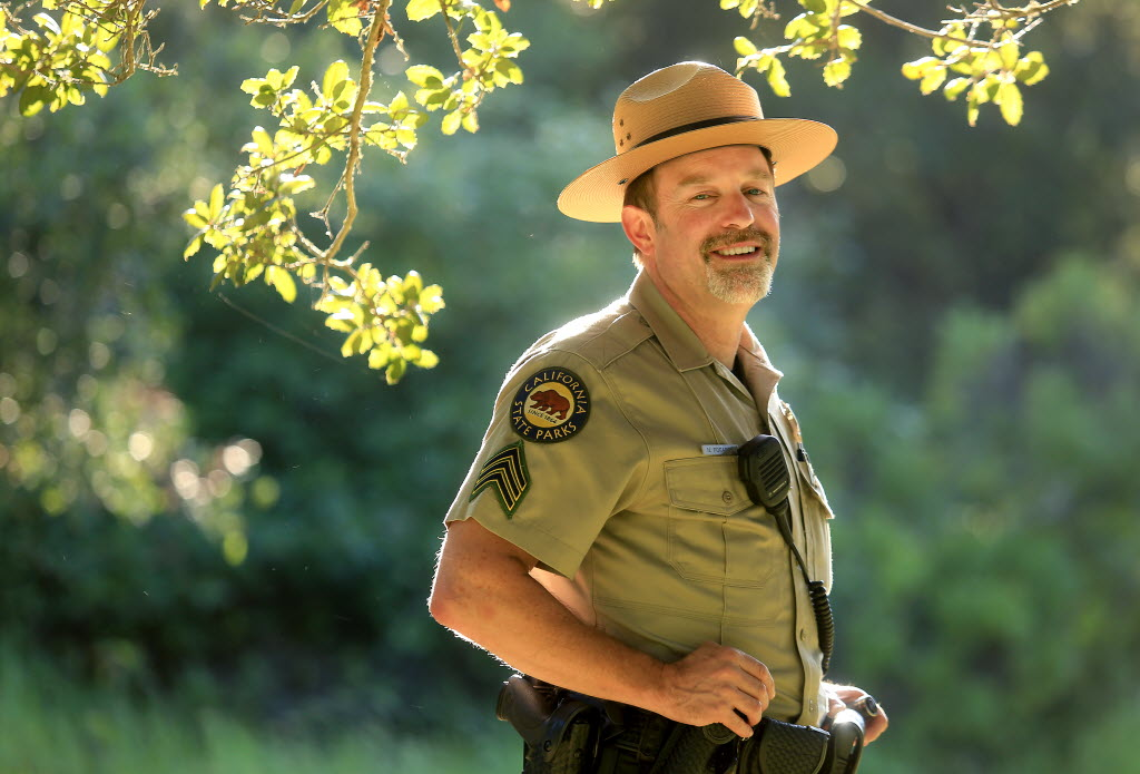 Most visitors to Annadel State Park walk or cycle into the park and skip paying the $7 day-use fee that currently must be paid with cash or check. Neill Fogarty, supervising park ranger for Annadel, says a new payment kiosk is coming that will permit credit or debit card payment.