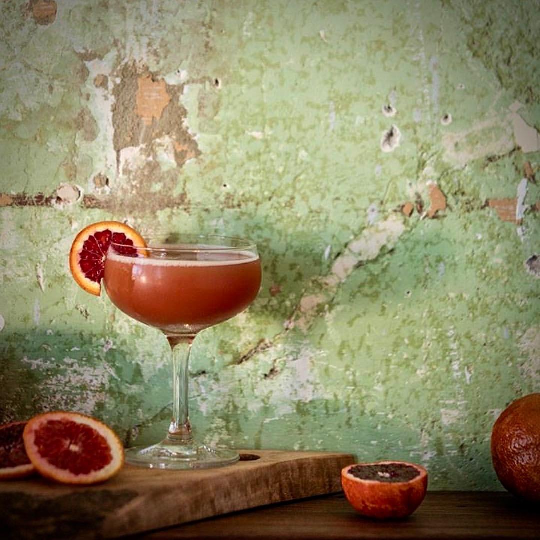 Blood Orange Cocktail at Geyserville Gun Club (Sara Sanger)