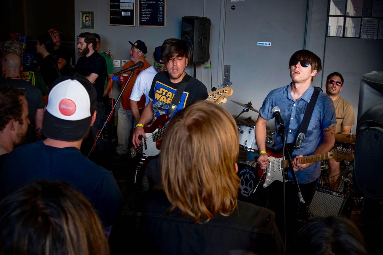 Santa Rosa band Illumignarly playing at Coopchella.