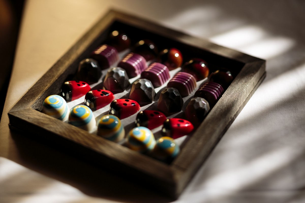Handmade candies by Manny Fimbrez.