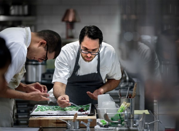 The Restaurant at Meadowood was a 2016 Wine Spectator Grand Award Winner for its extensive wine list.