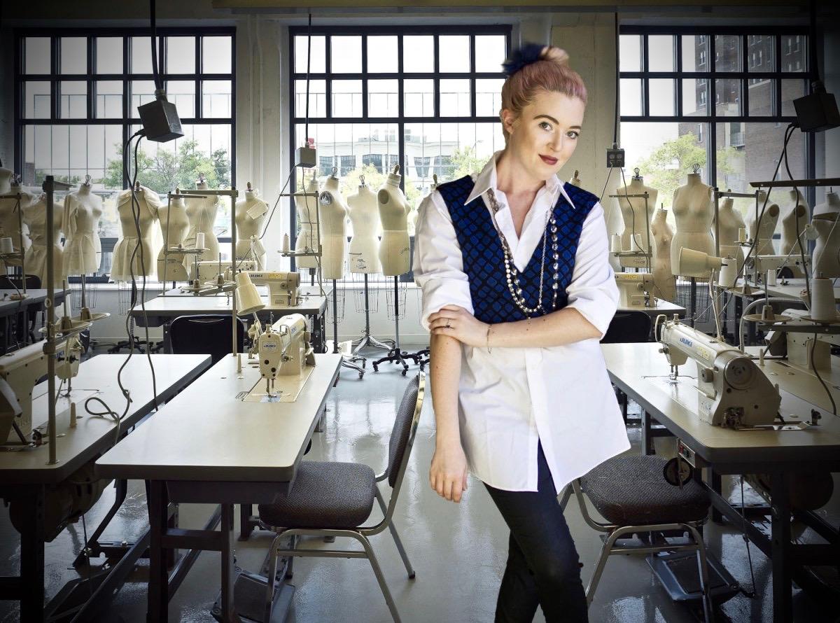 Fashion designer Nikki Marie.