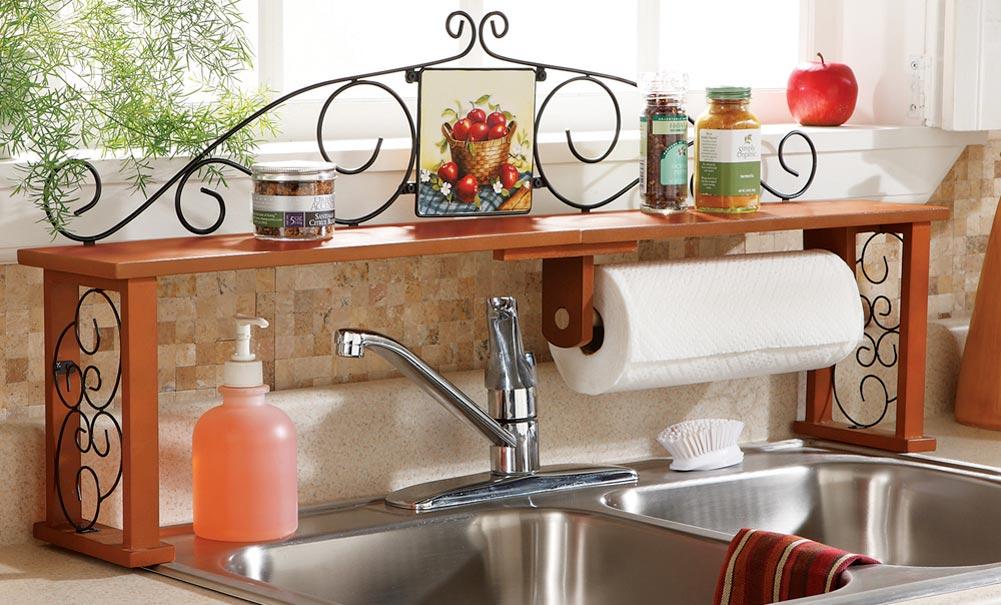 Over The Kitchen Sink Shelf - Home Design