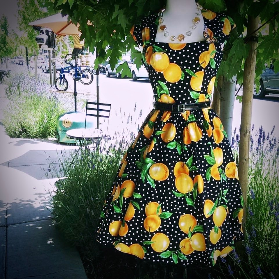 Fruit inspired clothing and accessories are really popular this summer.