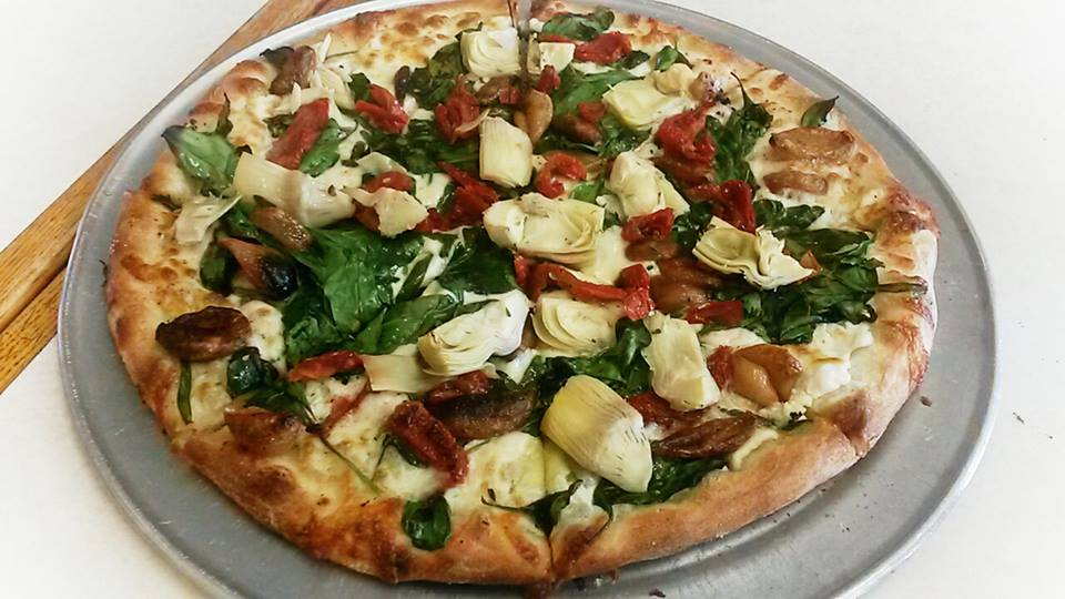 Prima Vera Pizza at Sal'S New Yorker Pizza in Cotati. (Photo courtesy of Sal's)